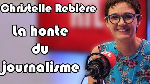 Christelle Rebière journaliste pro-Macron diffuse la Fake news de « l'affaire de l'hôpital de la salle Pétrière »