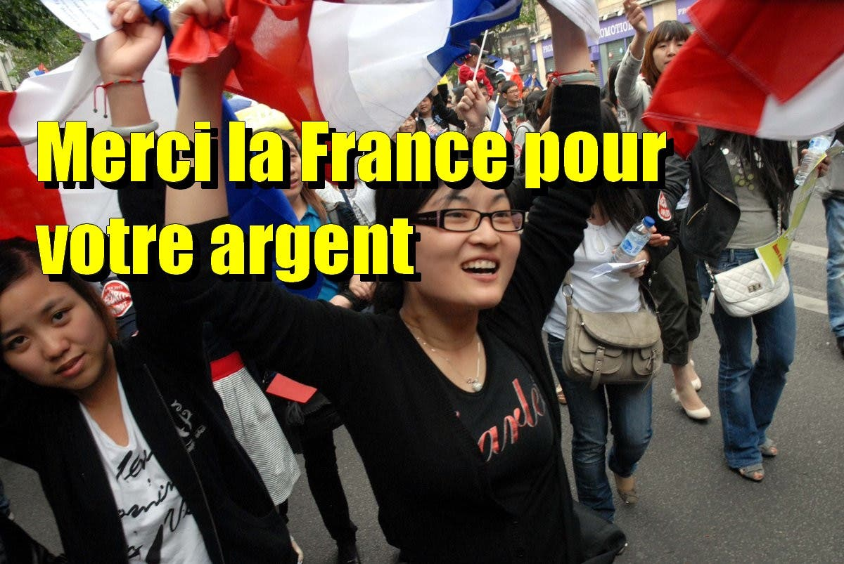 chinois france