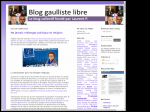 Laurent Herblay Blog Gaulliste libre